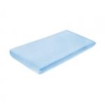 Cearceaf de bumbac cu elastic 120x60 cm Blue