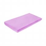 Cearceaf de bumbac cu elastic 120x60 cm Violet