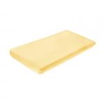 Cearceaf de bumbac cu elastic 120x60 cm Yellow