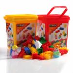 Cublo - Cutie cu cuburi, 65 buc, 18luni+