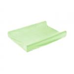 Husa de bumbac 100% pentru salteaua de infasat 70x50 cm Green