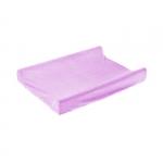 Husa de bumbac 100% pentru salteaua de infasat 70x50 cm Violet
