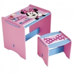 Masuta si scaun Minnie Mouse