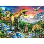 Puzzle Epoca Dinozaurilor, 100 Piese