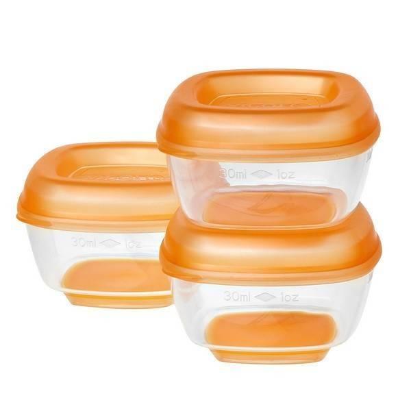 8 recipiente mici pentru congelat Press n Pop 4 luni+ imagine