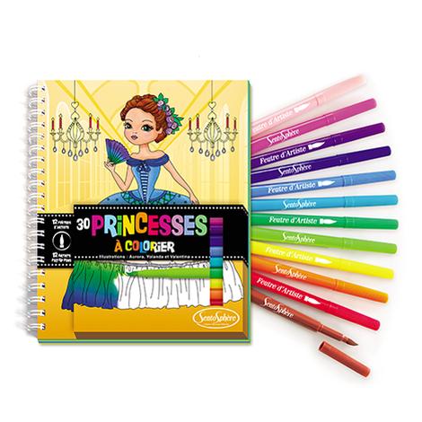 Carnet de colorat - Printese
