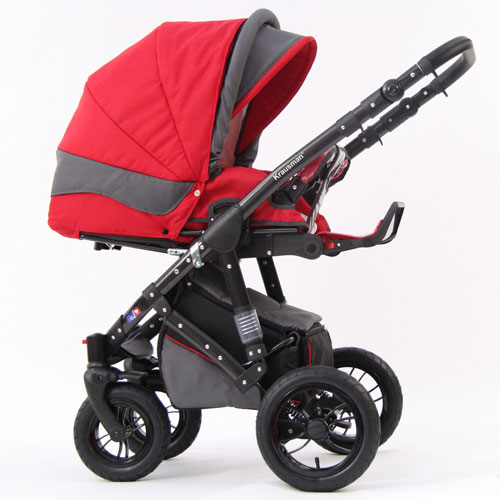 Carucior 3 in 1 Contempo Red