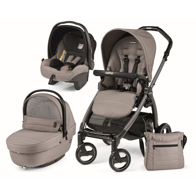 Carucior 3 in1 Book Plus S Black Sportivo ModBeige