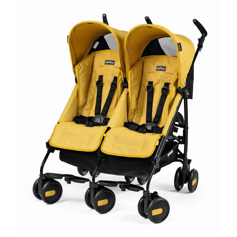 Carucior Pliko Mini Twin Modyellow
