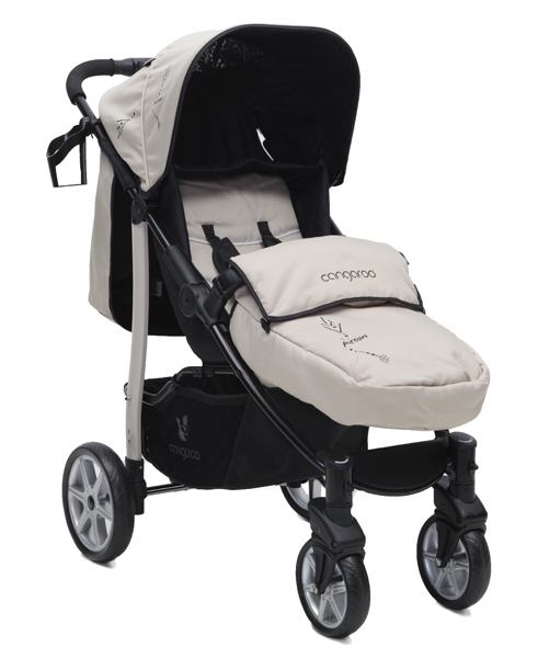 Carucior copii 2 in 1 Cangaroo Arrow Bej