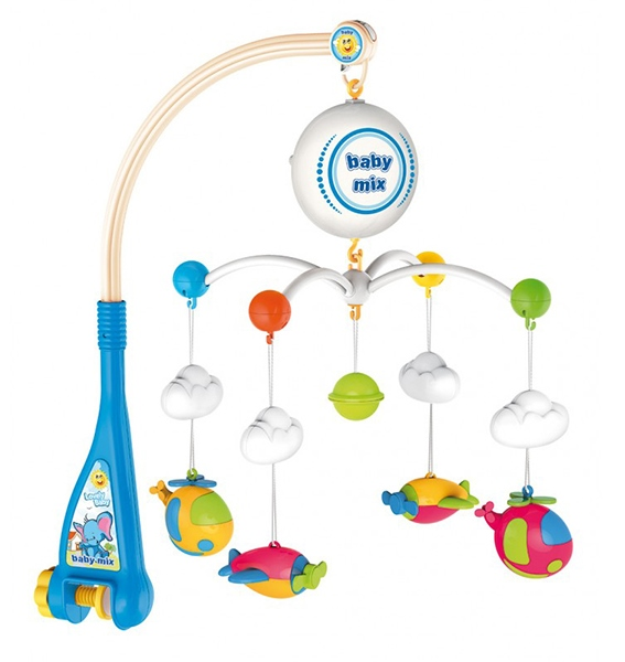 Carusel Muzical Patut Bebe Baby Mix Hs 1667m