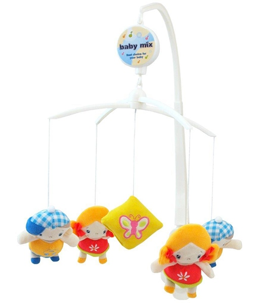 Carusel muzical patut bebe Baby Mix TK 367M Boy and Girl