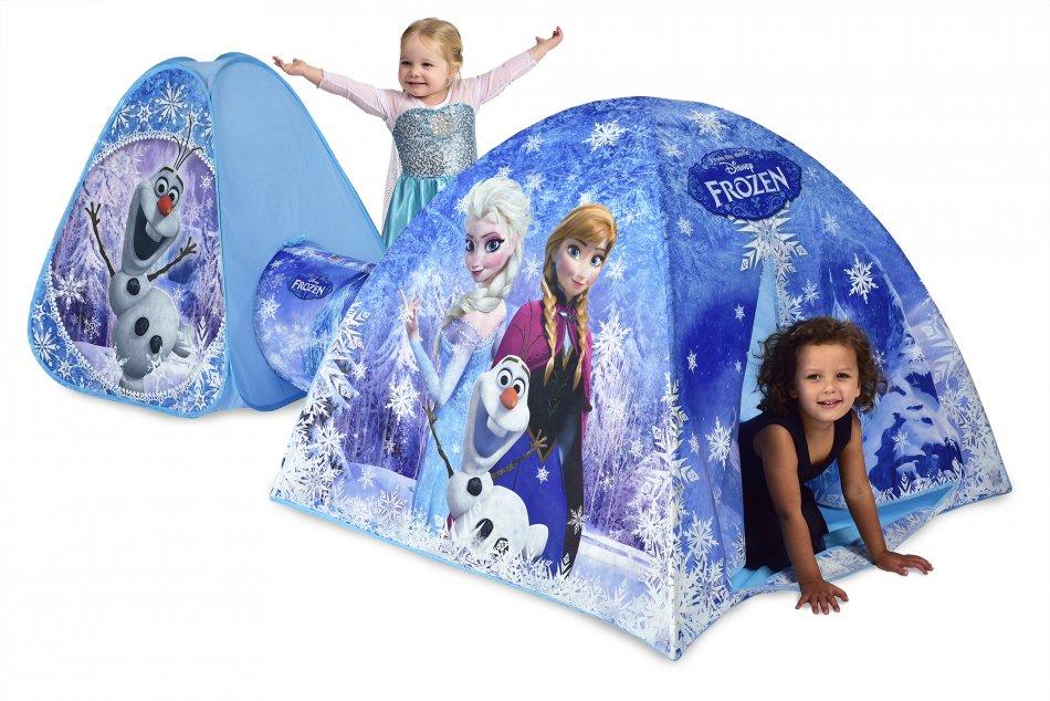 Cort de joaca pentru fetite 3 in 1 Disney Frozen