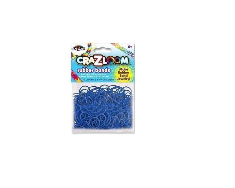 Cra-z-loom rezerve benzi elastice -Albastru