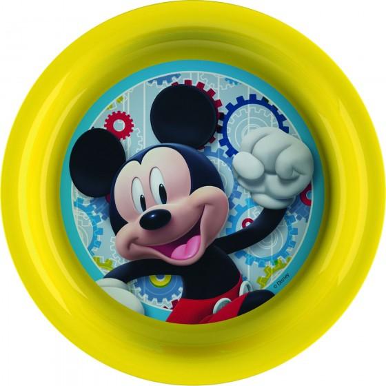 Farfurie Bbs 21 Cm Pentru Copii Cu Licenta Mickey Mouse