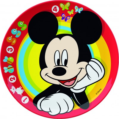 Farfurie intinsa BBS 20 cm pentru copii cu licenta Mickey Mouse