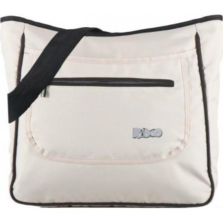 Geanta accesorii Mama Bag Deluxe Kiddo Beige-Sand