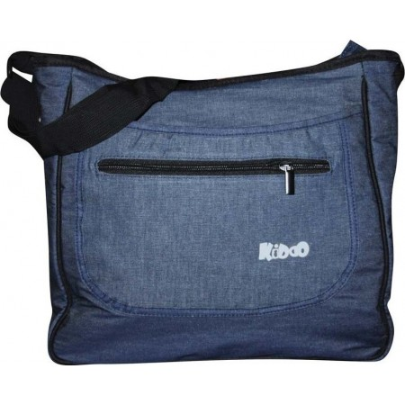 Geanta accesorii Mama Bag Deluxe Kiddo Jeans-blue