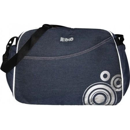 Geanta accesorii Mama Bag Kiddo Jeans-blue