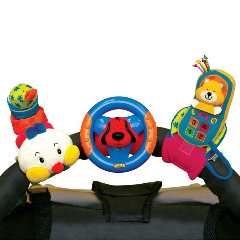Jucarie pentru caruciorpatut Happy Trio