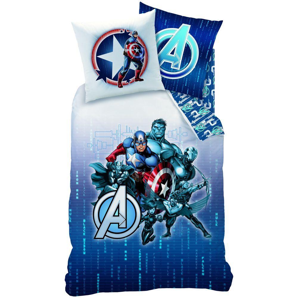 Lenjerie de pat Avengers 140x200 cm A4174