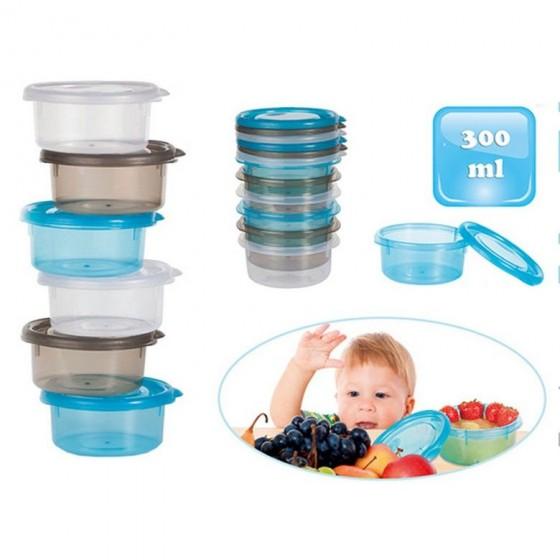 Mini caserole de stocare si depozitare mancare pentru bebelusi