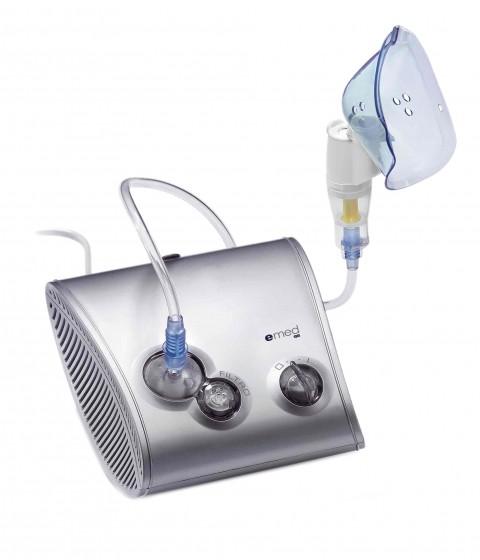 Nebulizator cu piston Emed A440 aparat aerosoli pentru copii si adulti