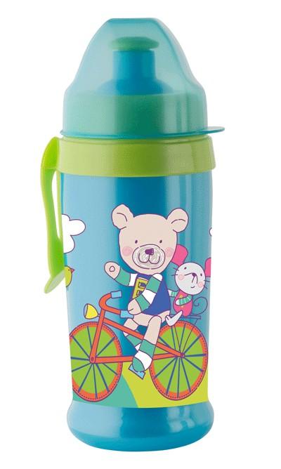 Pahar cu supapa Active sport CoolFrends Aqua 360ml.12L+ Rotho-babydesign