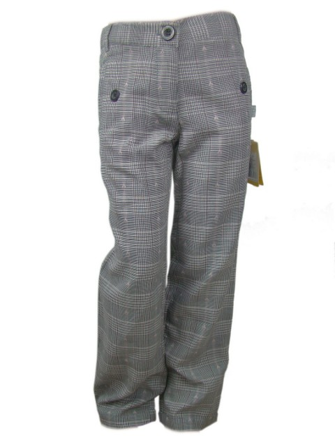 Pantaloni fete bumbac subtire, elastic reglabil in talie (Masura 140 (9-10 ani))
