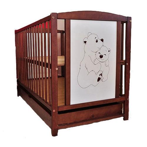 Patut Din Lemn Bear Mamo-tato