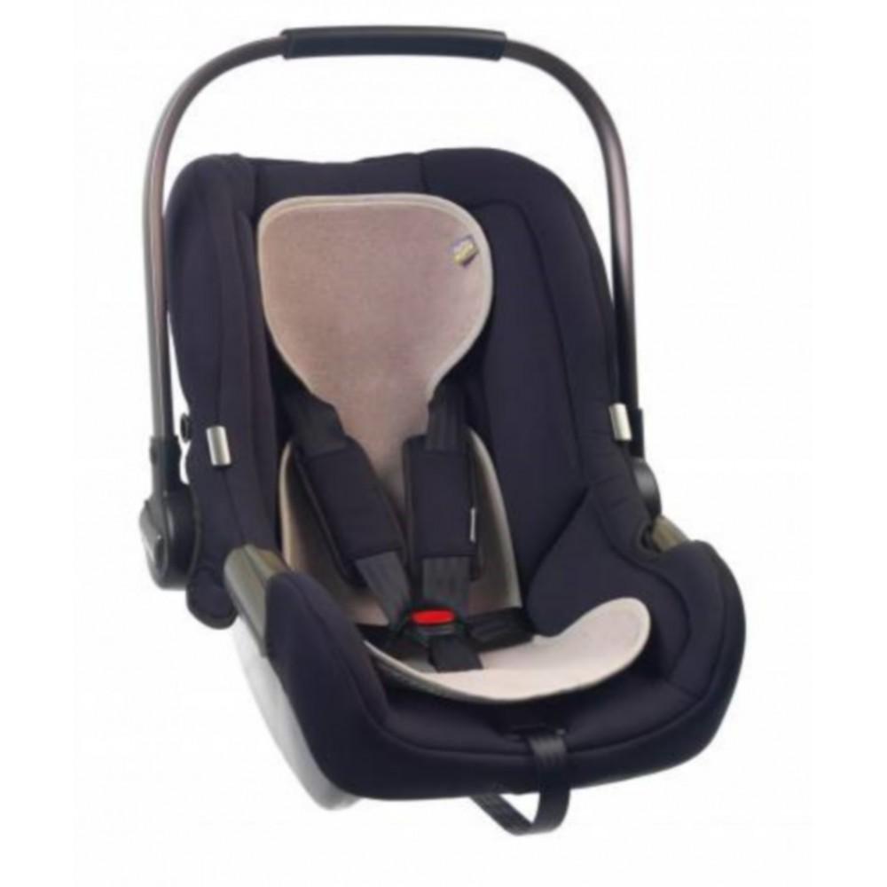 Protectie antitranspiratie scaun auto GR 0+ BBC Organic Sand