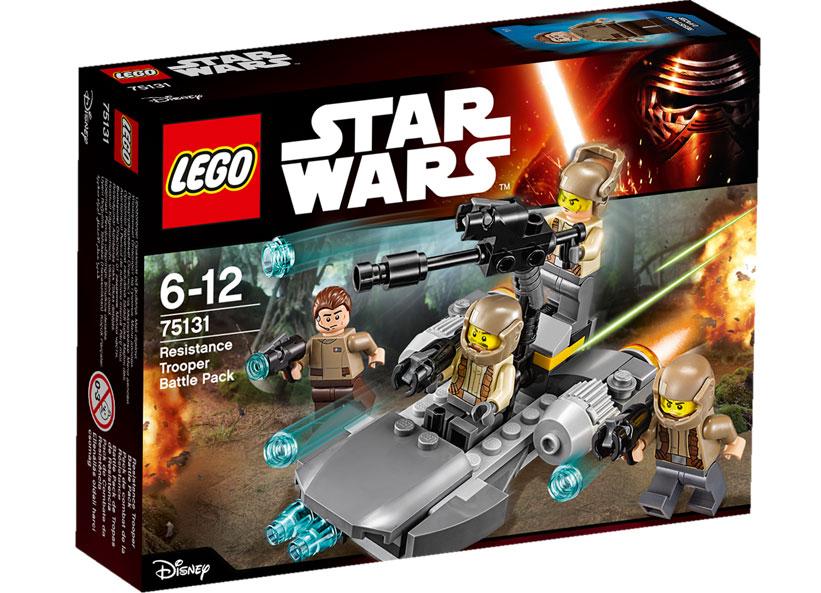 Resistance Trooper Battle Pack (75131)
