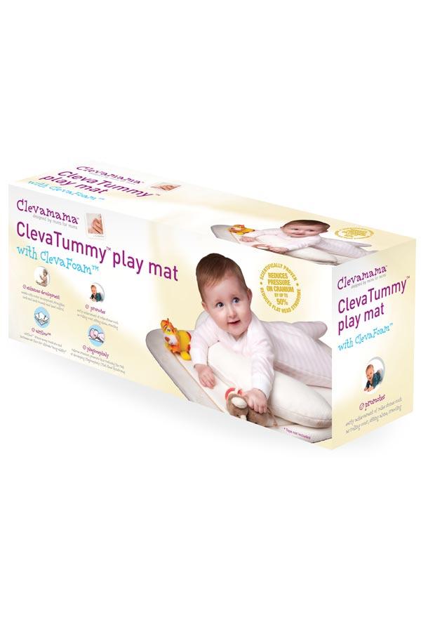 Salteluta de joaca TummyTime Clevamama imagine