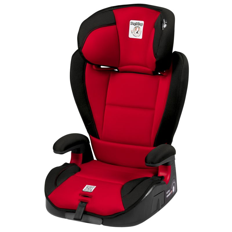 Scaun Auto Viaggio 2-3 Surefix Red(rosu cu negru)