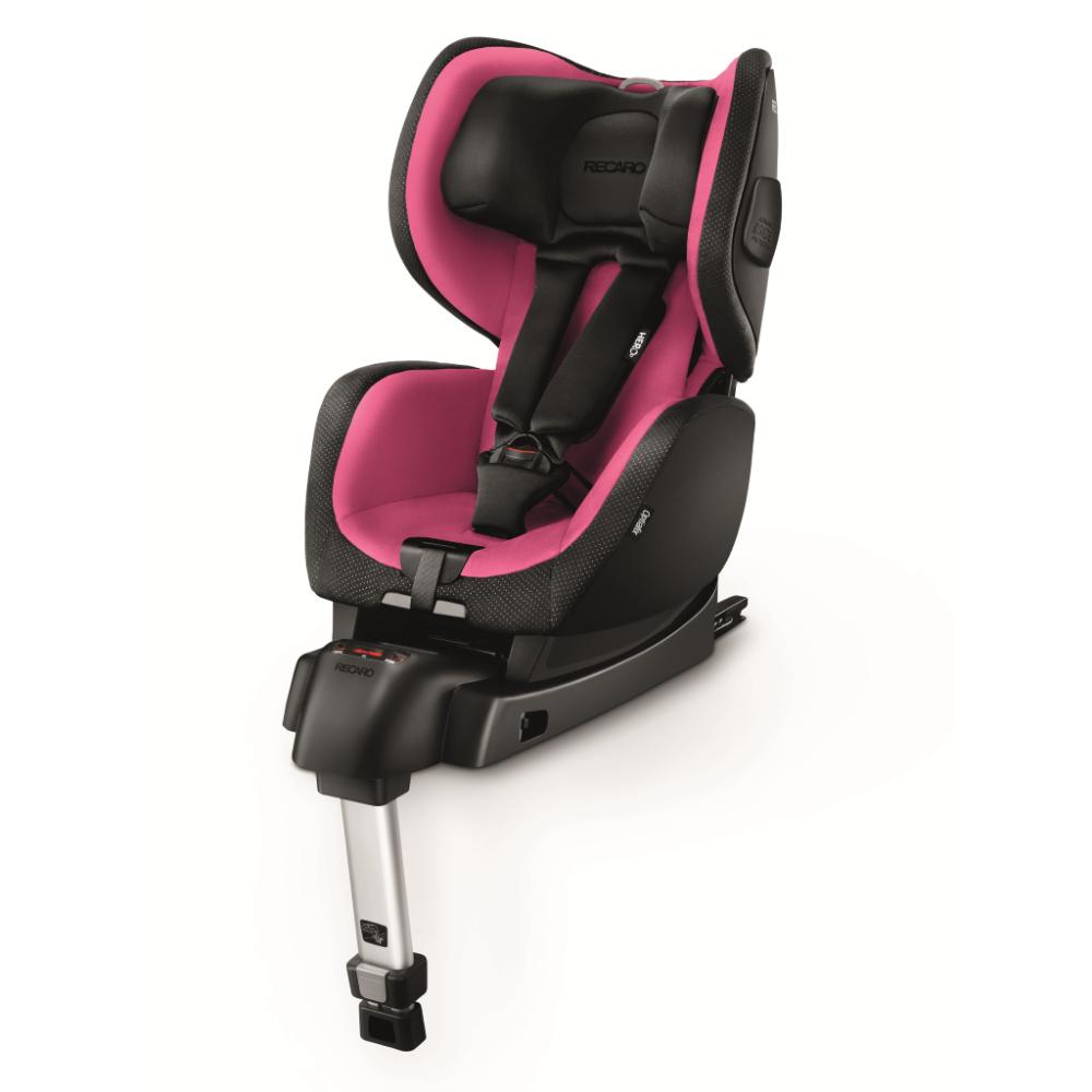 Scaun Auto pentru Copii cu Isofix OptiaFix Pink