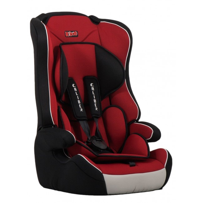 Scaun auto Caliber 9-36 kg Kiddo Red