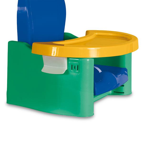 Scaun de masa 3 inaltimi albastru cu verde Joycare