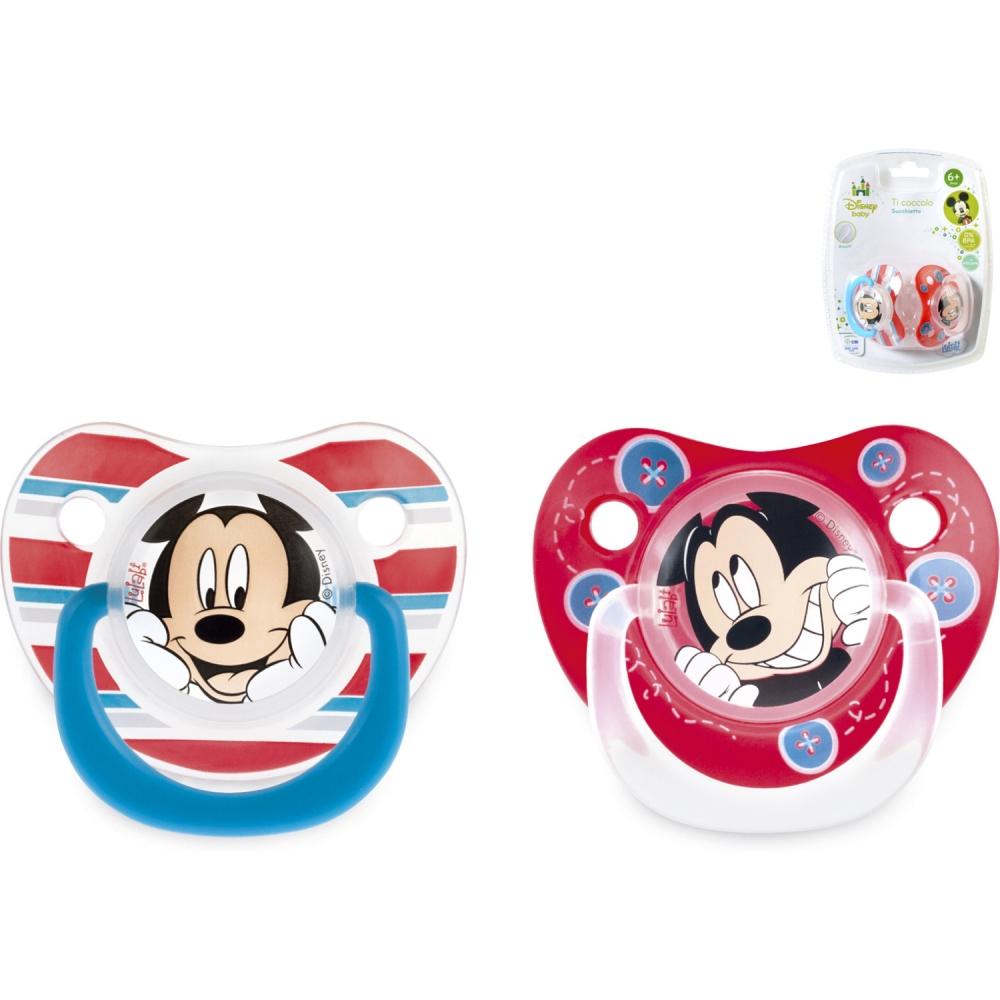Set 2 suzete Mickey 6 luni Lulabi 8113000