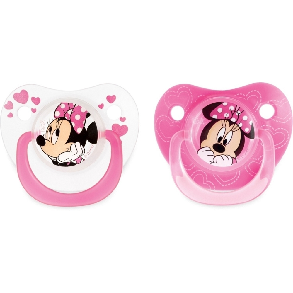 Set 2 suzete Minnie 3 luni Lulabi 8112400