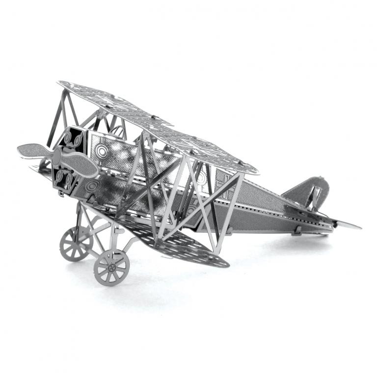Set asamblare macheta metalica Avion biplan militar D-VII - Metal Earth