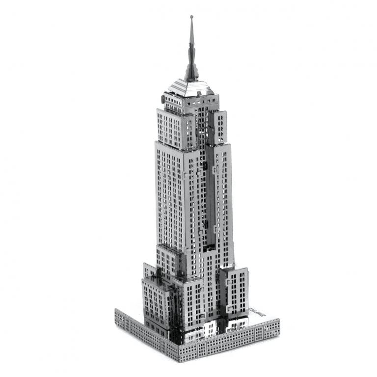 Set asamblare macheta metalica Empire State Building - Metal Earth