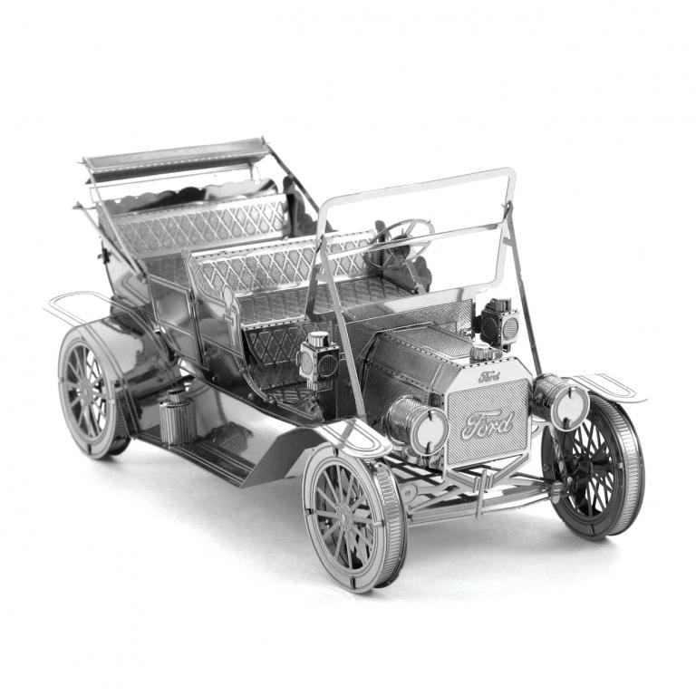 Set asamblare macheta metalica Ford 1908 model T - Metal Earth