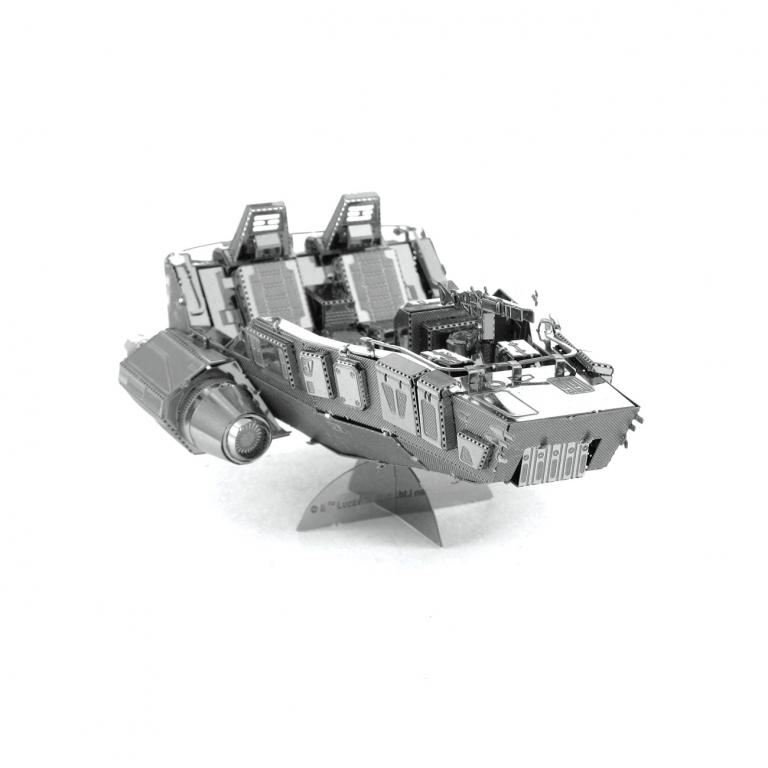 Set asamblare macheta metalica Nava de lupta Snowspeeder Star Wars - Metal Earth