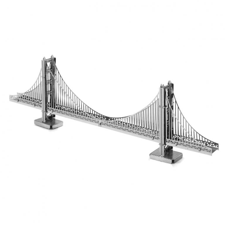 Set asamblare macheta metalica Podul Golden Gate - Metal Earth