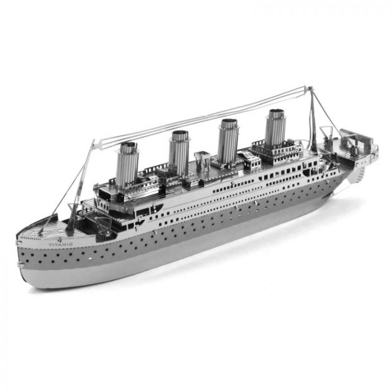 Set asamblare macheta metalica Vapor RMS Titanic - Metal Earth