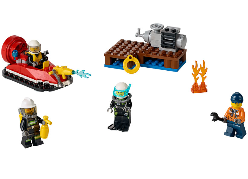 Set De Pompieri Pentru Incepatori (60106)