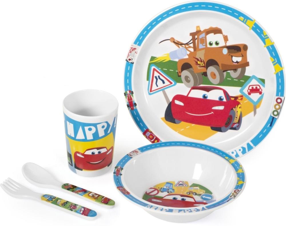 Set pentru masa melamina 5 piese Cars Lulabi 9203000