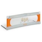 Bariera de pat 135 cm Joycare Portocaliu cu gri + Geanta