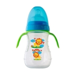 Biberon Zoo Lion cu manere 250 ml. 6-12L+ Rotho-babydesign