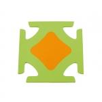 Covoras pentru joaca OkBaby-899 portocaliu